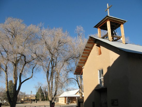 Ojo Caliente Mineral Springs Resort and Spa: Mission Church at Ojo Caliente