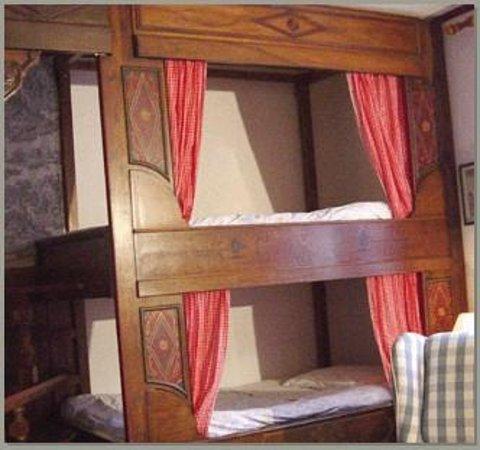 La Maison Bleue : chambres doubles, single, en alcove