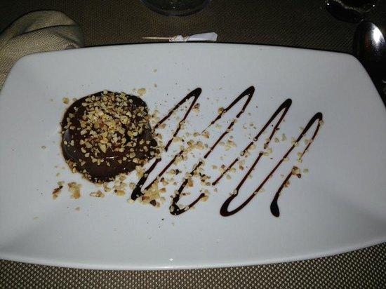 Ristorante Cortefreda: tortino al cioccolato