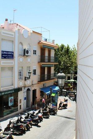 Hotel Plaza Cavana: View from the balcony