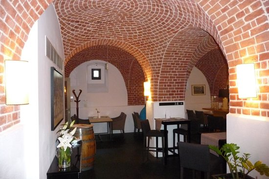 The Granary - La Suite Hotel: Blick zum Frühstücksraum