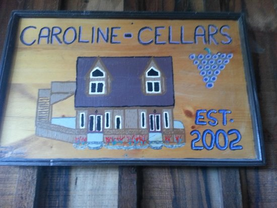Caroline Cellars Winery: Sign