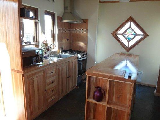Shenu Patagonia: Cocina