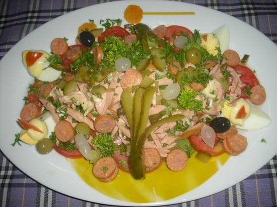 L'Alsace: Salade Alsacienne