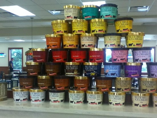 Blue Bell Creameries: Variety of flavors