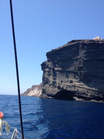 Spiridakos Sailing Cruises : never not an amazing view like this