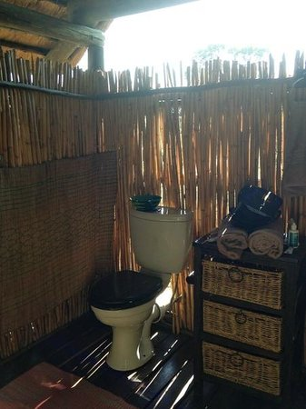 Shindzela Tented Camp: Toilette