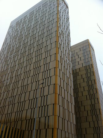 Sofitel Luxembourg Europe: General Court across the road.
