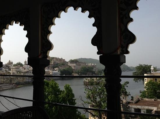 Hotel Hanuman Ghat : view from the restaurant