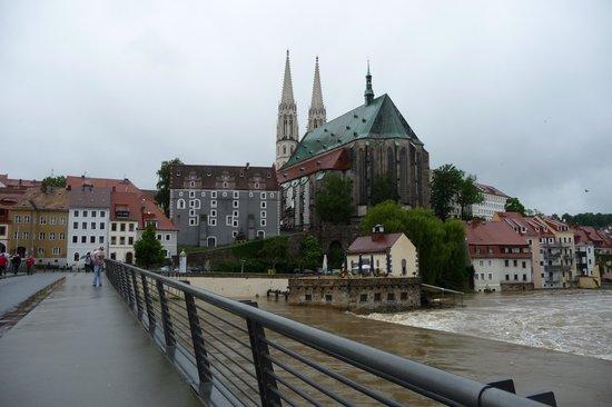Hotel Europa: Görlitz von der Friedensbrücke