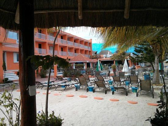 courtyard behind Barracuda