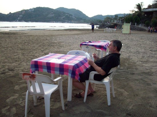 La Madera: madera beach new little restaurant