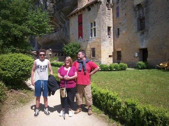 La Maison Forte de Reignac : It is very steep