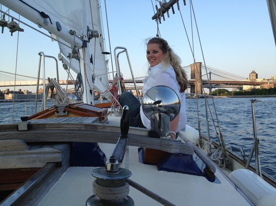 Narwhal Yacht Charters : Enjoying the deck