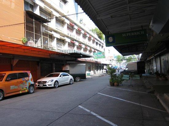 曼谷城市客棧照片