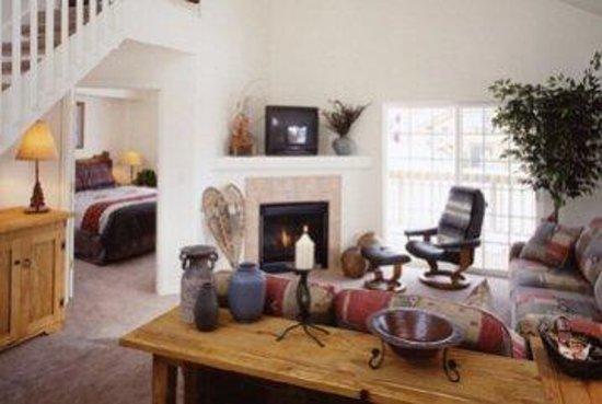 Villas at Walton Creek: Condo Living Area