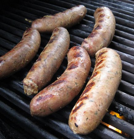 The Savory Gourmet: Beer brats
