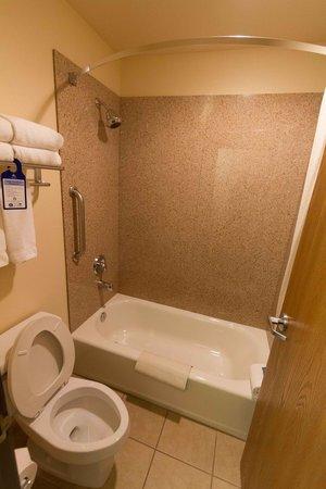 BEST WESTERN Territorial Inn & Suites: Toilet - Tub - Shower room