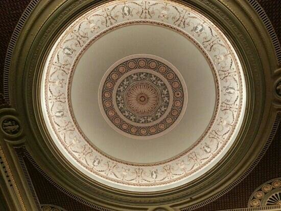Lucas Theatre For the Arts: ceiling