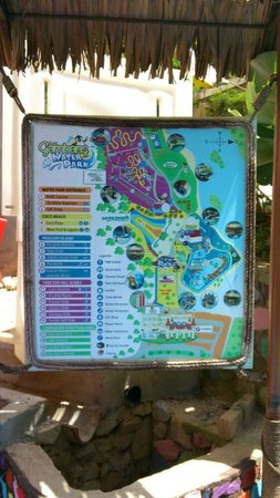 Bukit Gambang Waterpark Resort: Map