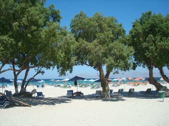 Luis Apartments : La spiaggia di Mastihari, Kos