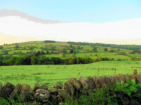 View of the local dales, not far from Roslyn House
