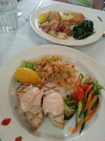 Marcel's Restaurant : Amberjack and Red Snapper Specials