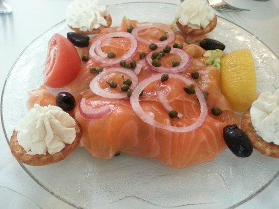 Marcel's Restaurant: Salmon Appetizer