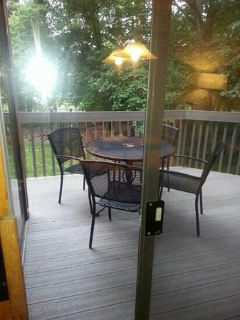 Fairfield Glade, TN: private family patio