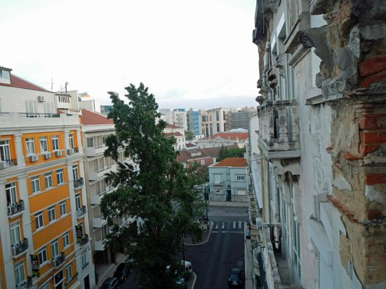 Hotel Real Parque: view from the room I stayed