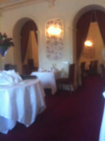 Bagden Hall Hotel: the dining area