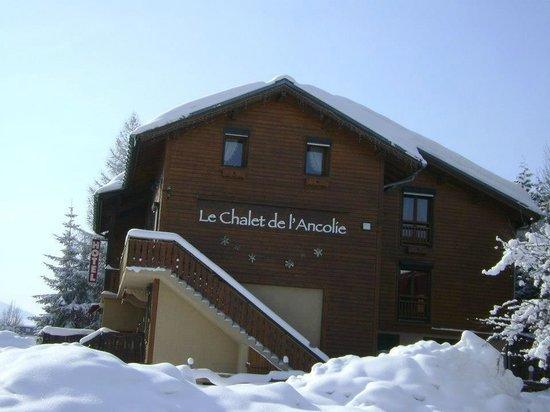 Chalet de l'Ancolie: L'Hôtel en hiver