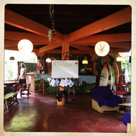 La Ruka Hostel : La Ruka reception area