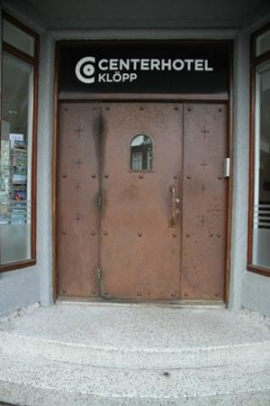 CenterHotel Klopp: Entrance of the hotel