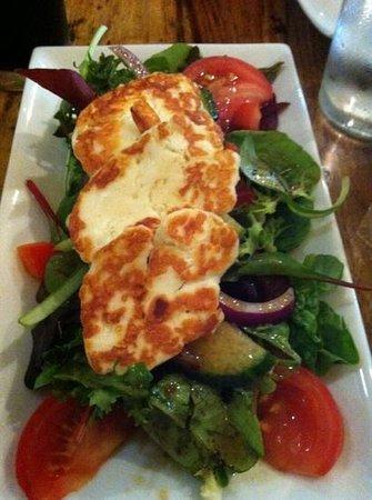 Indaba: the haloumi salad