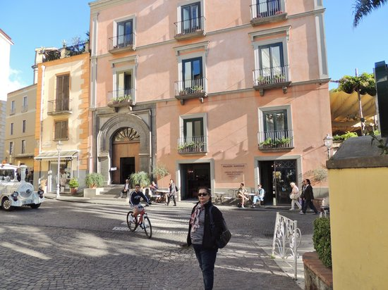 Palazzo Marziale: A view of the frontage of the hotel