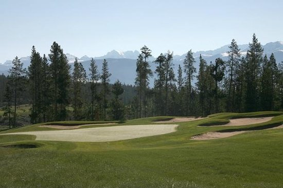 Pole Creek Golf Club: Ranch #2 green