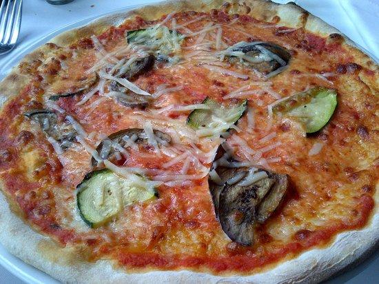 Malatesta: Pizza vegetariana