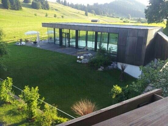 Hotel Kaufmann: Blick auf den Pool