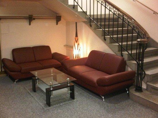 Hotel de la Lande: Lobby