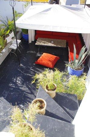 Riad Dar Thalge: Terrasse