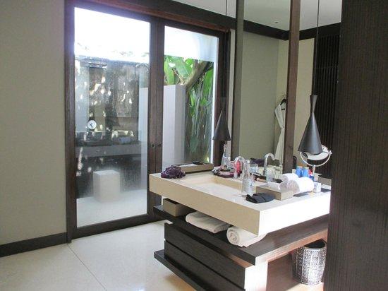 Soori Bali: Außendusche - haben wir aber nicht genützt wg der Gelsen