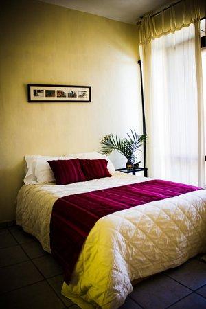 Calli Aztatl - Hotel Spa Boutique : Cuarto TIERRA - Room EARTH
