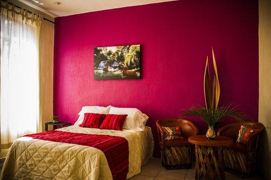 Calli Aztatl - Hotel Spa Boutique : Cuarto AGUA - Room WATER