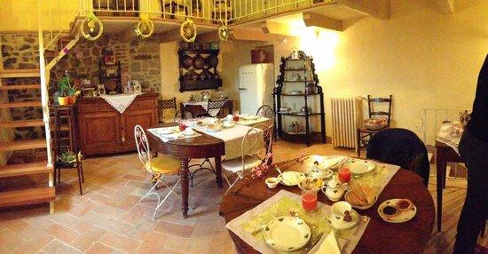 La Posta di Confine: Sala della colazione