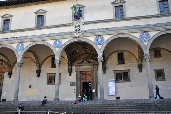 Museo degli Innocenti: Оспедале дельи Инноченти, Воспитательный дом, Приют для невинных