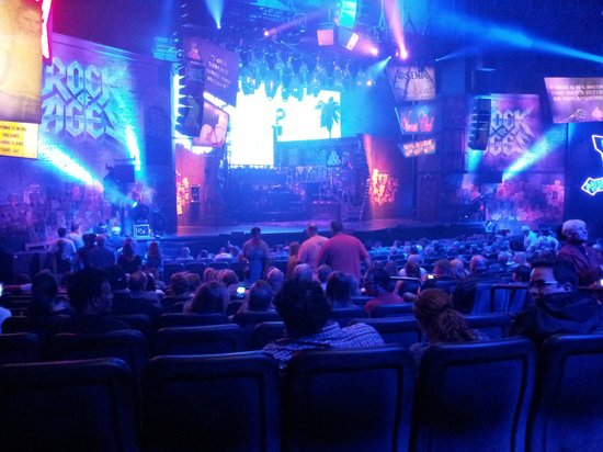 Rock of Ages Stage