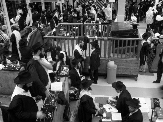 Jewish Hassidic Walking Tours: The study hall