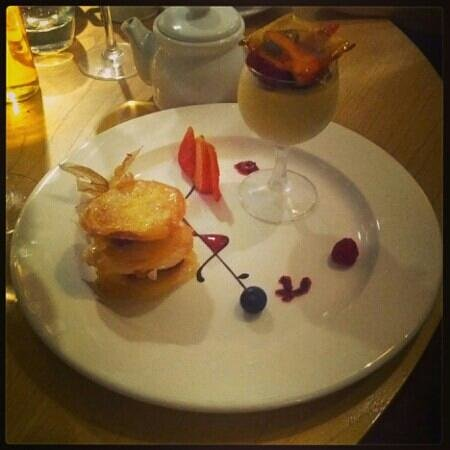 The Square Bar & Restaurant: so light and refreshing dessert
