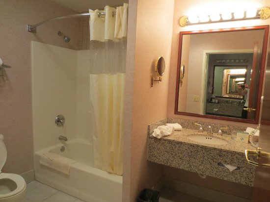 Medallion Hotel: Spacious bathroom
